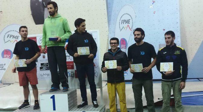 Circuito de escalada de competição FPME 2017